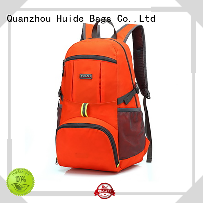 Huide collapsible foldable gym bag for travel