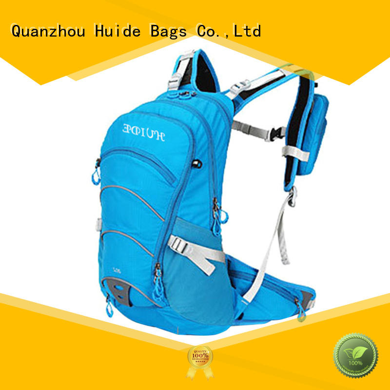 stylish hydration pack & blue baby diaper bag
