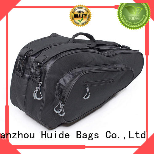 Huide cheap personalized tennis racket bag supply for women