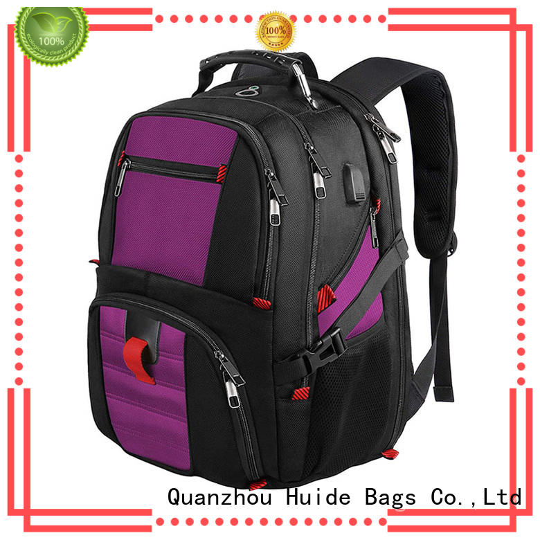 best women's business computer backpack with shoe compartment for travel