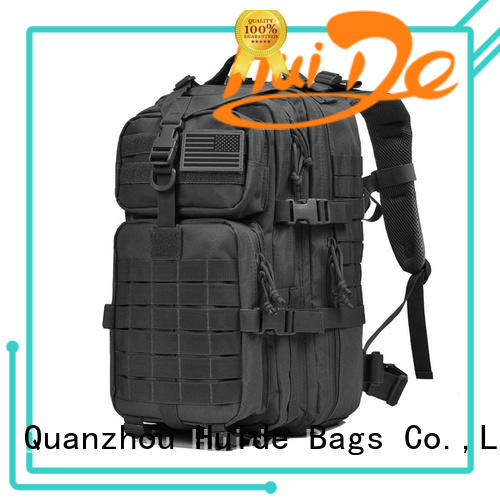 Huide selling top military backpacks on sale for man