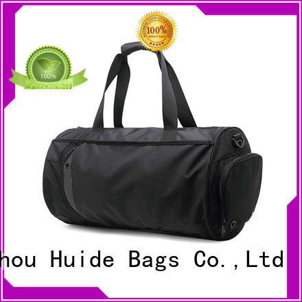 Huide popular good gym backpack material for international travel