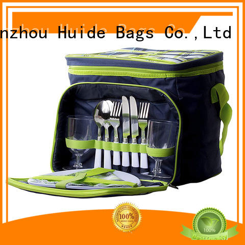 Huide how much empty picnic backpack function for two people