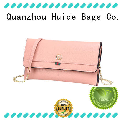 Huide design quality leather wallet special price for women