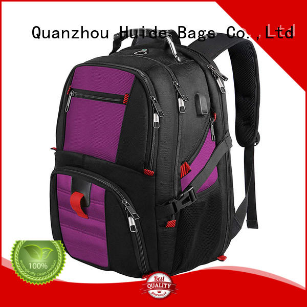Huide cyber business backpack with shoe compartment for work