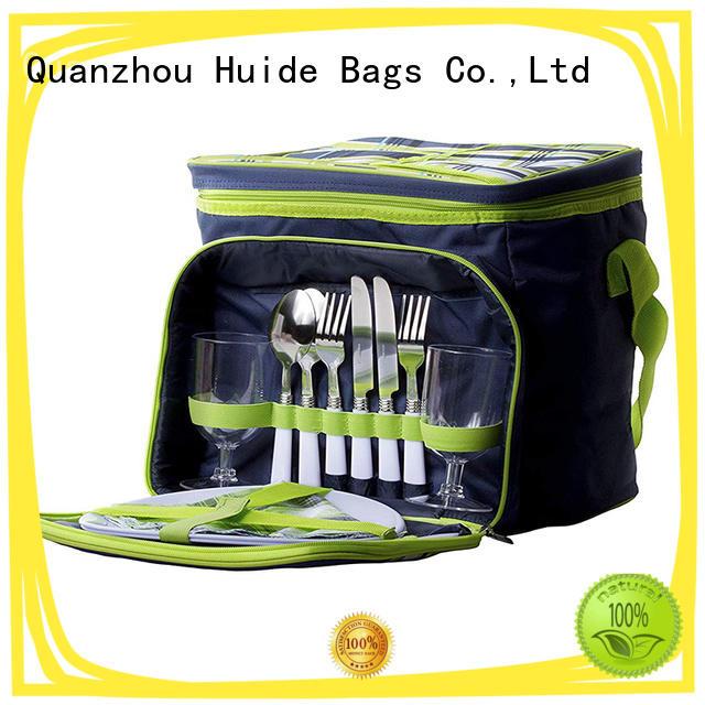 Huide picnic kit backpack function for travel