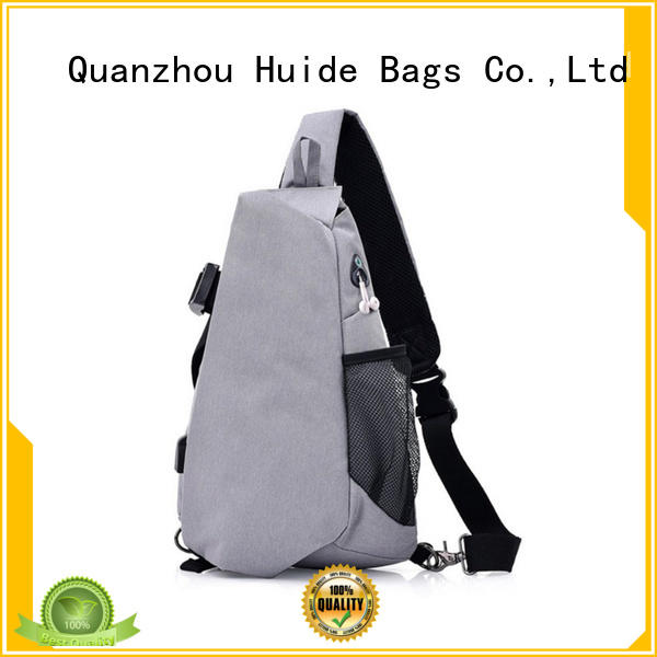 Huide quality over chest bag product source for adults