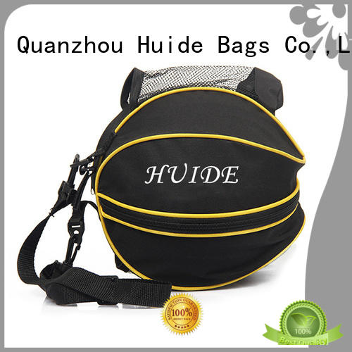 Huide selling basketball duffel bag wholesale price for sport