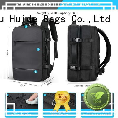 best women's business computer backpack with water bottle holder for men and women