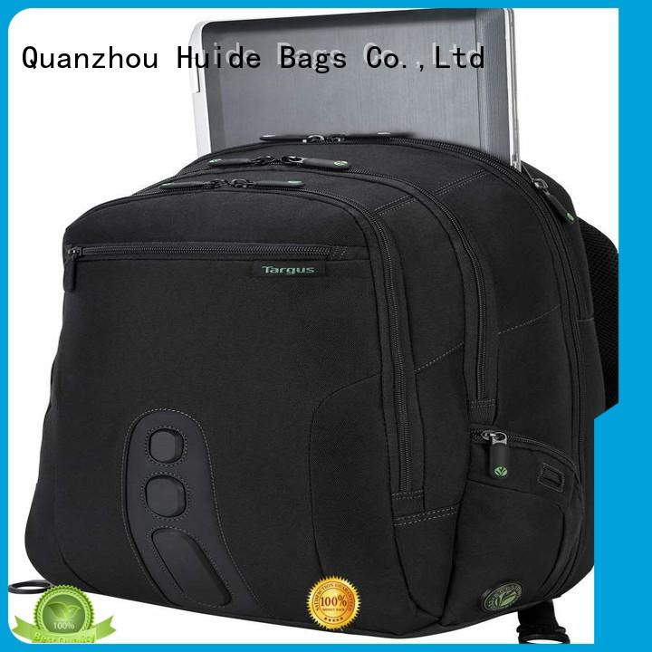 Huide canvas backpacks for school function for travel