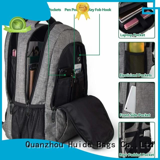 Huide fashionable casual sporty backpack wholesale for guys