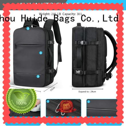 one pocket business travel backpack with luggage strap for ladies